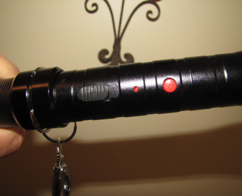 Stun Baton functions Button